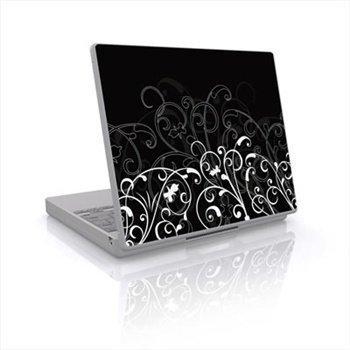 Laptop Skin B&W Fleur