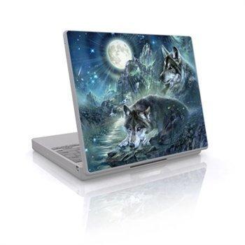 Laptop Skin Bark At The Moon