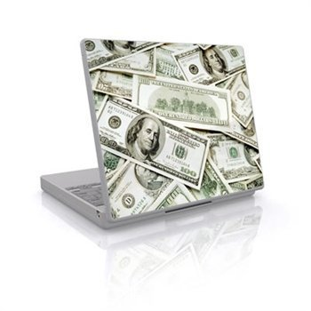 Laptop Skin Benjamins