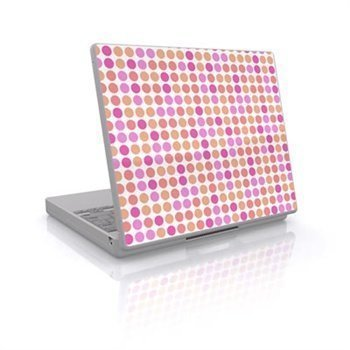Laptop Skin Big Dots Peach