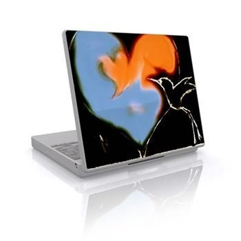 Laptop Skin Bird Heart
