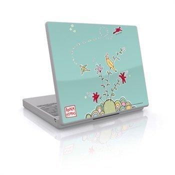 Laptop Skin Birds On A Hill Blue