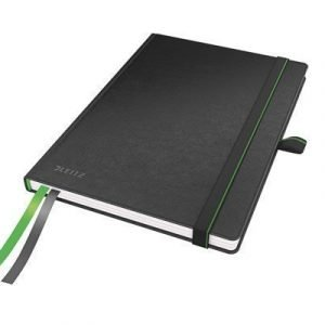 Leitz Complete Notebook A5 96g/80 Sheet Ruled Black