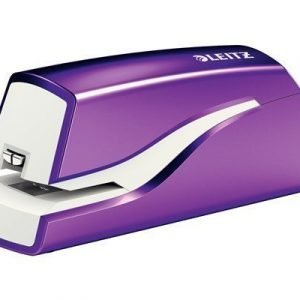 Leitz Electric Stapler Wow Purple Battery