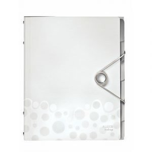 Leitz Esijärjestin Bebop 6 Jak Valkoinen 4-pakkus