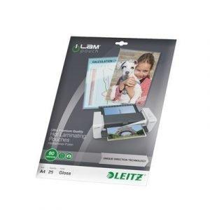Leitz Laminating Pouch 80mic A4 25pcs