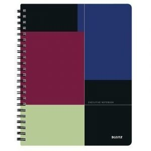 Leitz Project Book Executive A4 Pp Ruled 3-pack