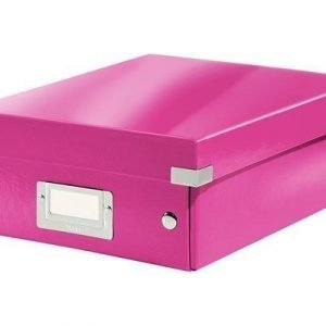 Leitz Sorting Box S Click & Store Wow Cerise