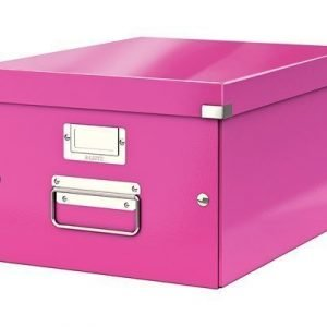 Leitz Storage Box Medium Click & Store Cerise
