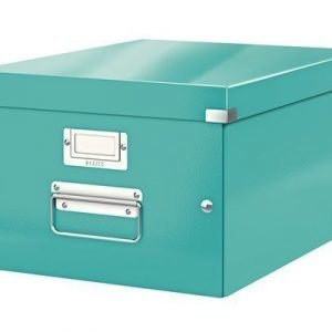 Leitz Storage Box Medium Click & Store Ice Blue