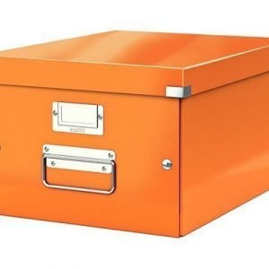 Leitz Storage Box Medium Click & Store Orange