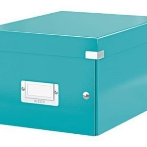 Leitz Storage Box Small Click & Store Ice Blue