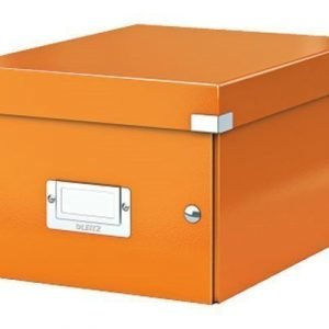 Leitz Storage Box Small Click & Store Orange