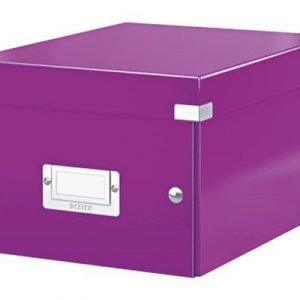 Leitz Storage Box Small Click & Store Purple