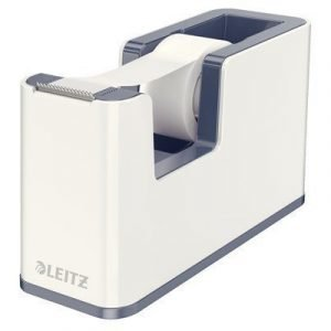 Leitz Tape Holder Wow White Incl 1 Roll Tape