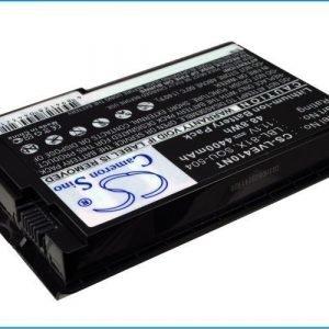 Lenovo 125 125C 410 E410 410M E280 E290 E660 E680 E260 akku 4400 mAh - Valkoinen