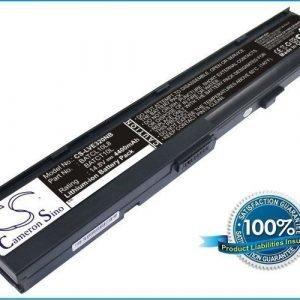 Lenovo E320 V71 akku 4400 mAh - Musta