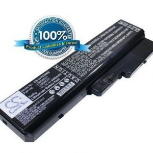Lenovo IdeaPad Y430 akku 4400 mAh - Musta