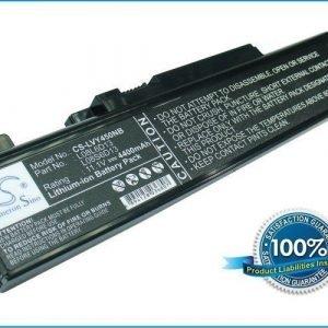 Lenovo IdeaPad Y450 akku 4400 mAh - Musta