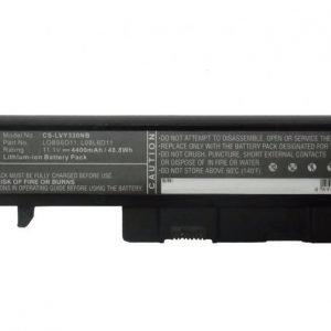 Lenovo LO8S6D11 akku 4400 mAh Musta