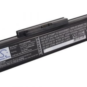 Lenovo ThinkPad Edge E430 akku 6600 mAh - Musta