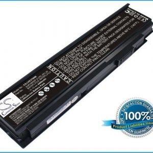 Lenovo Y100 E370 akku 4400 mAh - Musta