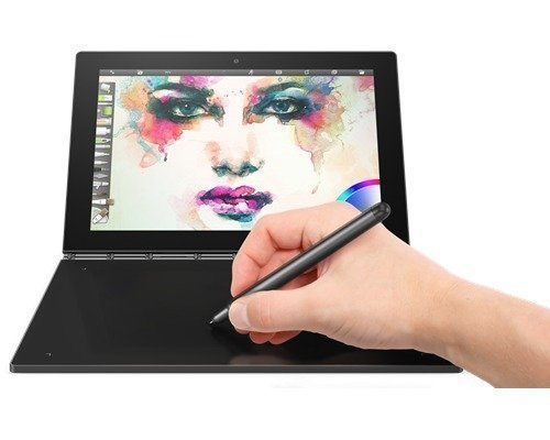 Lenovo Yoga Book Windows 10.1 64gb Musta