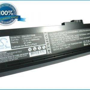 Lenovo ideapad U110 akku 4400 mAh - Musta