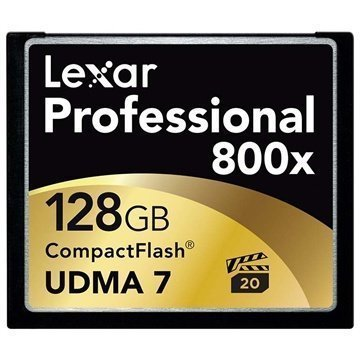 Lexar LCF128CRBEU800 Professional 800x Compact Flash Muistikortti 128Gt