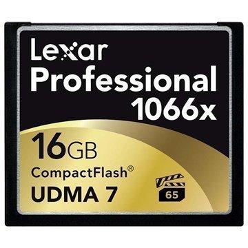 Lexar LCF16GCRBEU1066 Professional 1066x Compact Flash Muistikortti 16Gt