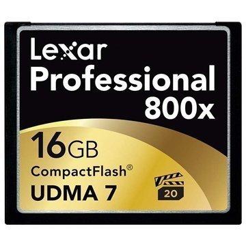 Lexar LCF16GCRBEU800 Professional 800x Compact Flash Muistikortti 16Gt