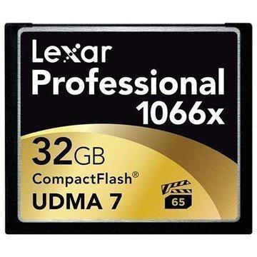 Lexar LCF32GCRBEU1066 Professional 1066x Compact Flash Muistikortti 32Gt