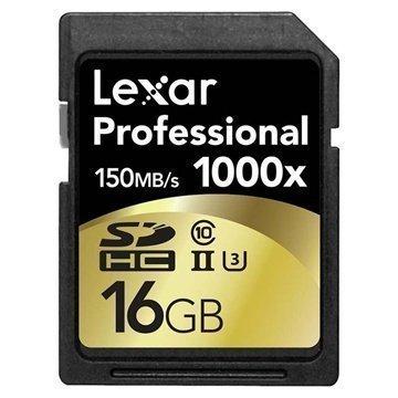 Lexar LSD16GCRBEU1000 Professional 1000x SDHC Muistikortti 16Gt