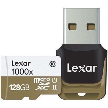 Lexar Professional 1000x MicroSDXC Muistikortti 128Gt