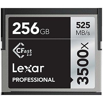 Lexar Professional 3500X CFast Memory Card 256GB