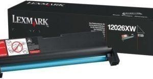 Lexmark 12026XW Drum Unit E 120 E 120 N Musta