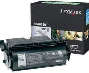 Lexmark 12A6830 Toner T 520 X 522 Musta