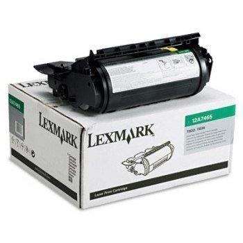 Lexmark 12A7465 Toner T 632 T 634 X 634 E Musta