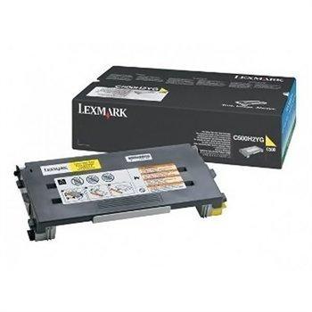 Lexmark C 500 OPTRA C 500 X 500 N Toner C500H2YG Yellow