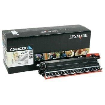 Lexmark C 540 N OPTRA C 540 N Toner C540X32G Cyan