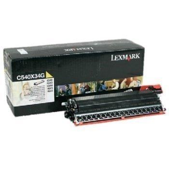 Lexmark C 540 N OPTRA C 540 N Toner C540X34G Yellow