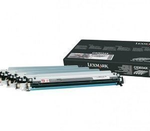 Lexmark C53034X Drum Unit 4 Pack C 524 Musta Cyan Magenta Keltainen