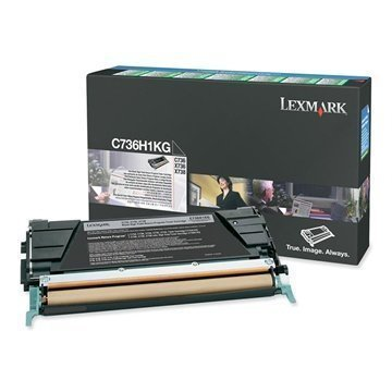 Lexmark C736H1KG Väri C 736 DN X 736 DE Musta