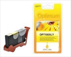 Lexmark Premium mustepatruuna - Keltainen 100XL 9 6 ml