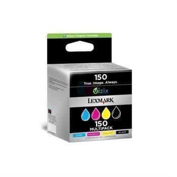 Lexmark Pro 715 Pro 915 Inkjet Cartridge NR. 150 Black / Cyan / Magenta / Yellow