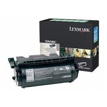 Lexmark T 630 X 630 Toner 12A7462 Black
