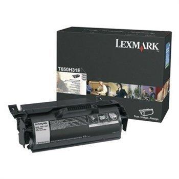 Lexmark T650 X651 X658 Toner T650H31E Black