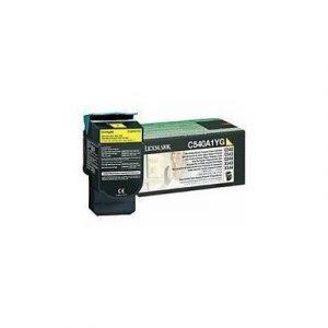 Lexmark Värikasetti Keltainen 1k C540/x543