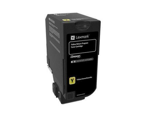 Lexmark Värikasetti Keltainen 3k Cs720/cs725 Return