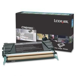 Lexmark Värikasetti Musta 12k C746/c748 Return